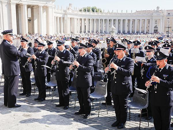 A banda da Polícia Penitenciária
